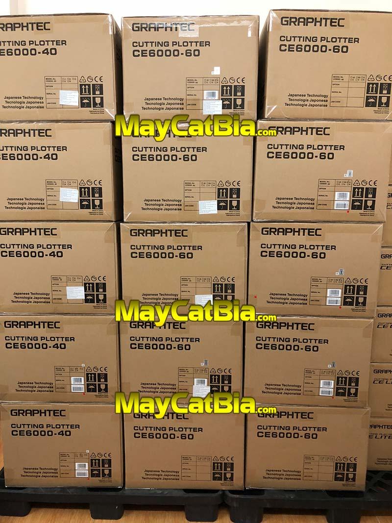 Kho máy cắt decal bia mộ Graphtec CE6000 Plus của MayCatBia.com