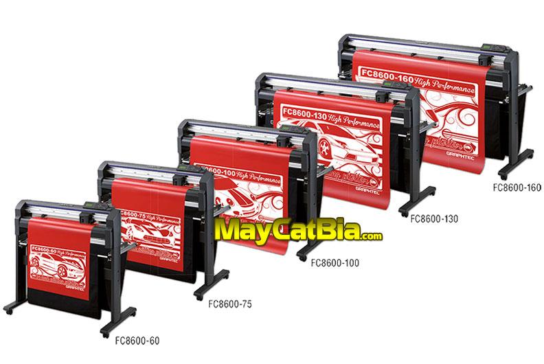 máy cắt bia mộ bia đá Graphtec FC8600 Nhật