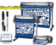 Máy cắt chữ decal làm bia mộ bia đá Graphtec CE6000 Plus