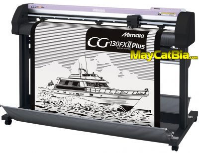 Máy cắt chữ decal Mimaki CG-FXII Plus cắt decal bia mộ cực đẹp, bền, nhanh