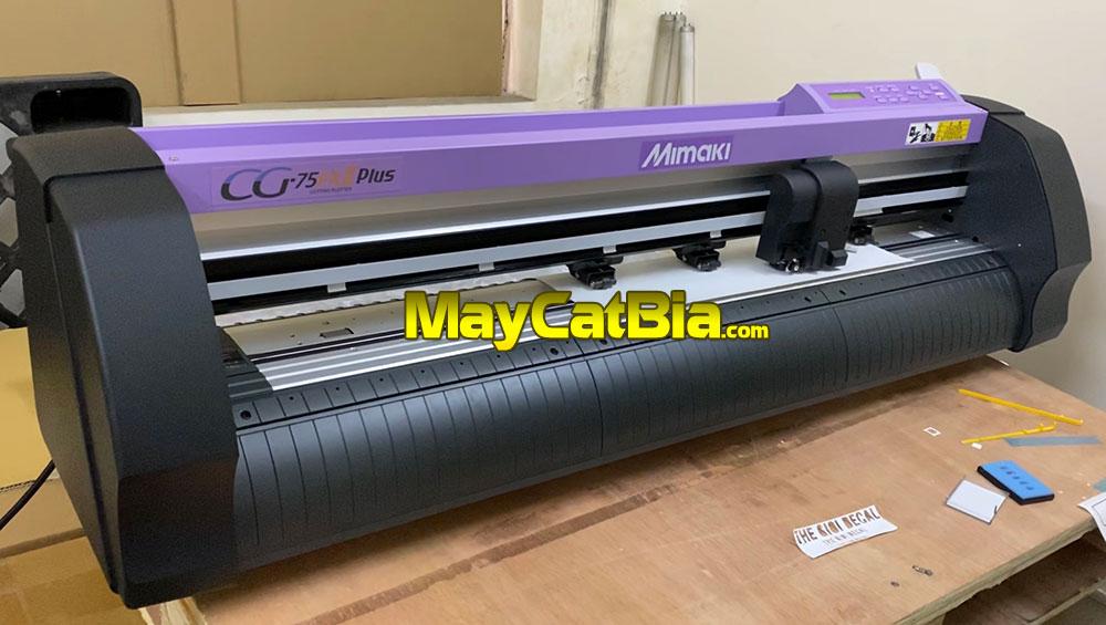 Máy cắt Mimaki CG-75FXII Plus chưa lắp chân tại MayCatBia.com