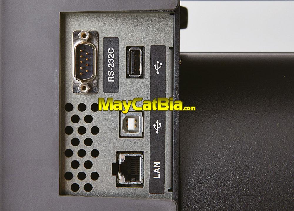 Nhiều cổng kết nối hơn. Đặc biệt, máy cắt trực tiếp USB không cần máy tính